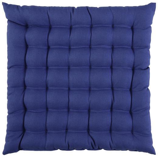 SITZKISSEN - Blau, Basics, Textil (38/38/cm) - Novel