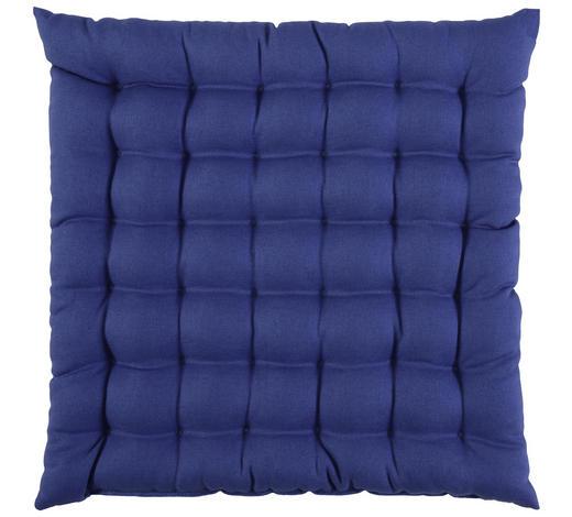 SITZKISSEN  - Blau, Basics, Textil (38/38cm) - Novel