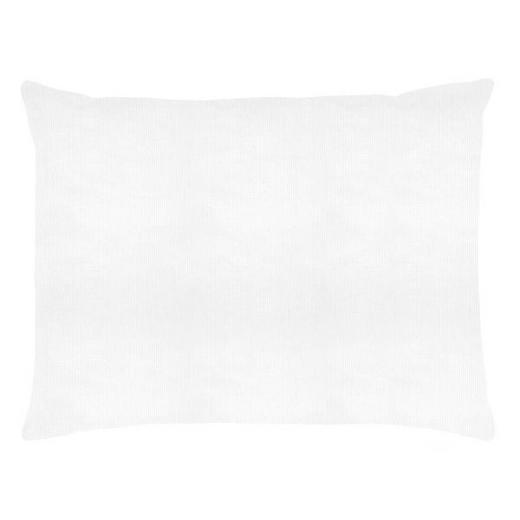 JASTUČNICA - bijela, Konvencionalno, tekstil (60/80cm)