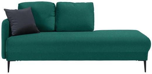 LIEGE in Textil Dunkelgrün - Dunkelgrün/Anthrazit, MODERN, Textil (190/85/88cm) - Carryhome