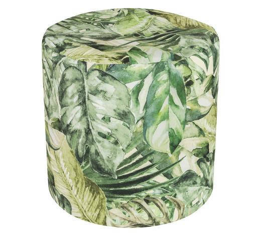 HOCKER in Textil Multicolor - Multicolor, Textil (50/50cm)