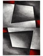 TKANA PREPROGA RUBIN DIAMOND  120/170 cm  tkano  rdeča  - rdeča, Design, tekstil (120/170cm) - Novel
