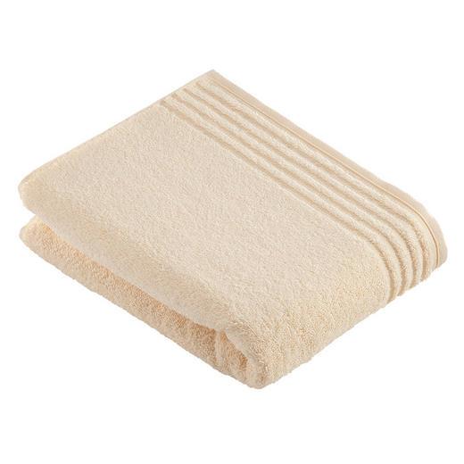 BADETUCH 80/160 cm - Creme, Basics, Textil (80/160cm) - VOSSEN
