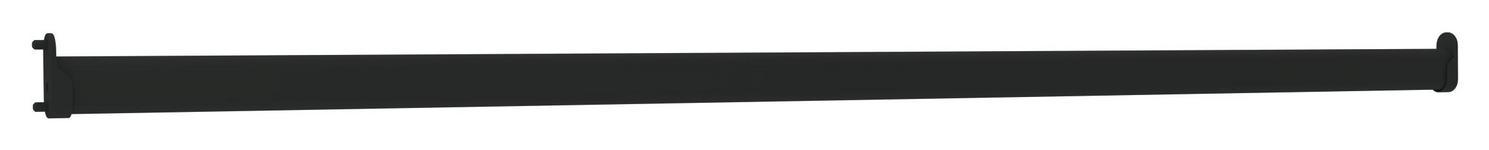 Kleiderstange Unit - Anthrazit, MODERN, Metall (86,9/3cm) - Ombra