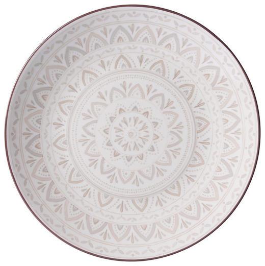 SPEISETELLER 26,5 cm - Creme/Braun, KONVENTIONELL, Keramik (26,5cm) - Ritzenhoff Breker