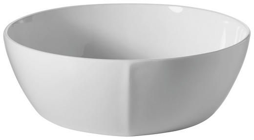 SALATSCHÜSSEL Bone China Keramik - Weiß, Basics, Keramik (23cm) - Novel