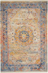 RETRO TEPIH - Plava, Konvencionalno, Tekstil (200/285cm) - Esposa