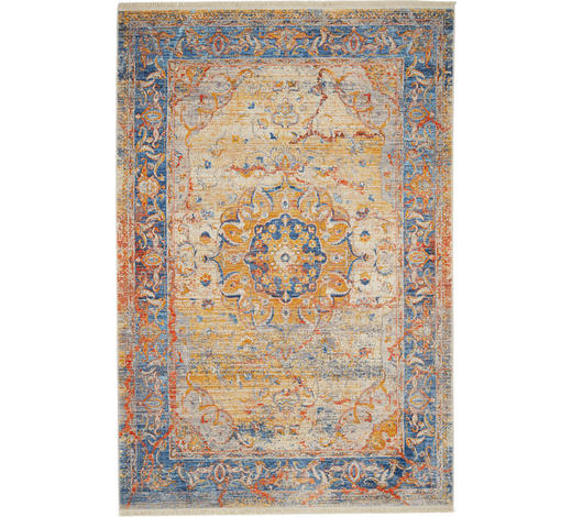PREPROGA VINTAGE SAMARKAND - modra, Konvencionalno, tekstil (160/235cm) - Esposa