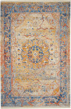 VINTAGE TEPIH - plava, Konvencionalno, tekstil (133/185cm) - Esposa