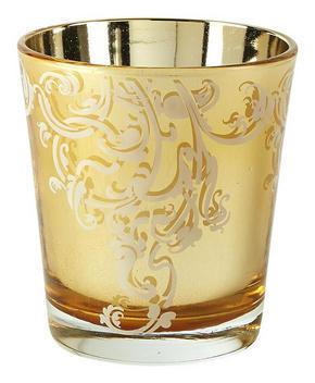 VÄRMELJUSGLAS - guldfärgad, Klassisk, glas (9/10cm) - Ambia Home