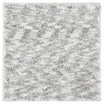 BADTEPPICH  Silberfarben  60/60 cm     - Silberfarben, KONVENTIONELL, Kunststoff/Textil (60/60cm) - Esposa