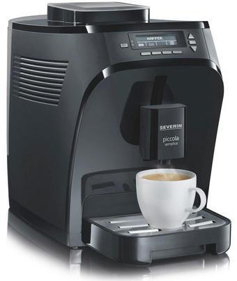 Severin Kaffeevollautomat - Schwarz, Kunststoff (22,8/31,6/38,7cm)