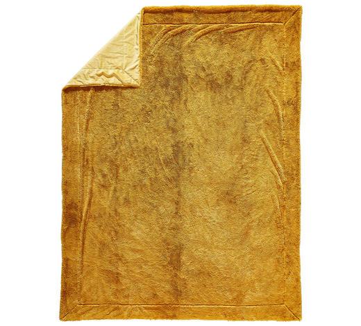 WOHNDECKE 150/200 cm Gelb  - Gelb, KONVENTIONELL, Textil (150/200cm) - Novel