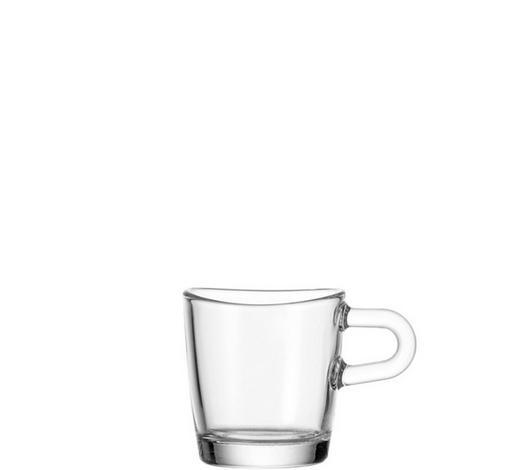 SKLENICE NA ESPRESSO,  - čiré, Basics, sklo (0,1l) - Leonardo