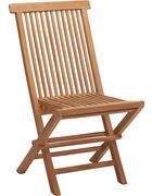 ZAHRADNÍ SKLÁPĚCÍ ŽIDLE - barvy teak, Design, dřevo (46,5/88/58,2cm) - Ambia Garden