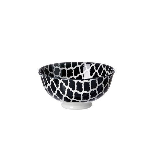 SCHALE Keramik Steinzeug - Schwarz/Weiß, Basics, Keramik (12cm) - Ritzenhoff Breker