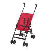 ŠPORTNI VOZIČEK PLAIN RED - črna/bela, Basics, kovina/tekstil (30/100/87cm)