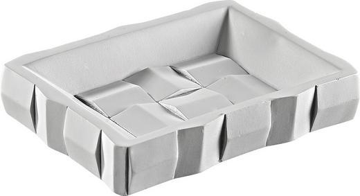 SEIFENSCHALE - Weiß, Basics, Kunststoff (7.3/5.1/1,6cm)