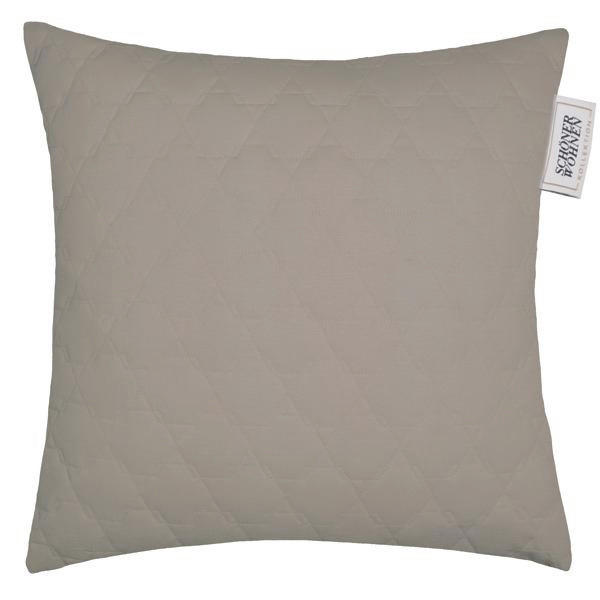 KISSENHÜLLE Grau 45/45 cm - Grau, Textil (45/45cm) - SCHÖNER WOHNEN
