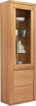 VITRÍNA - barvy buku, Konvenční, dřevo/dřevěný materiál (66/204/38cm) - VOLEO