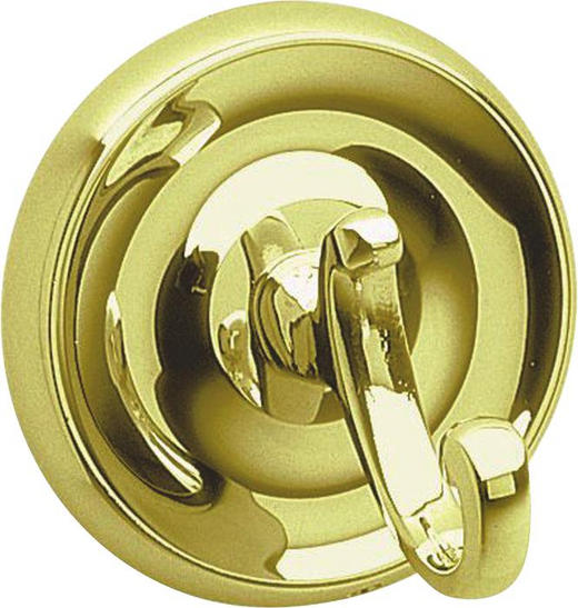 HAKEN - Goldfarben, Basics, Metall (7cm)