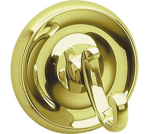 HAKEN in Goldfarben - Goldfarben, Basics, Metall (7cm)