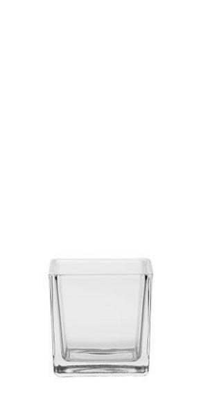 VÄRMELJUSGLAS - klar, Basics, glas (8/8/8cm) - Ambia Home