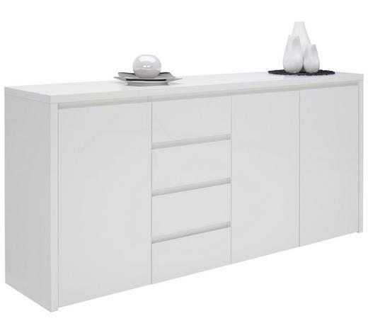 SIDEBOARD 192,2/92,2/45 cm - Weiß, Design, Holzwerkstoff (192,2/92,2/45cm) - Voleo