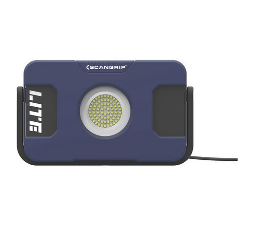 LED-BAUSTRAHLER FLOOD LITE MC - Blau/Schwarz, KONVENTIONELL, Kunststoff (28/17,5/9cm)