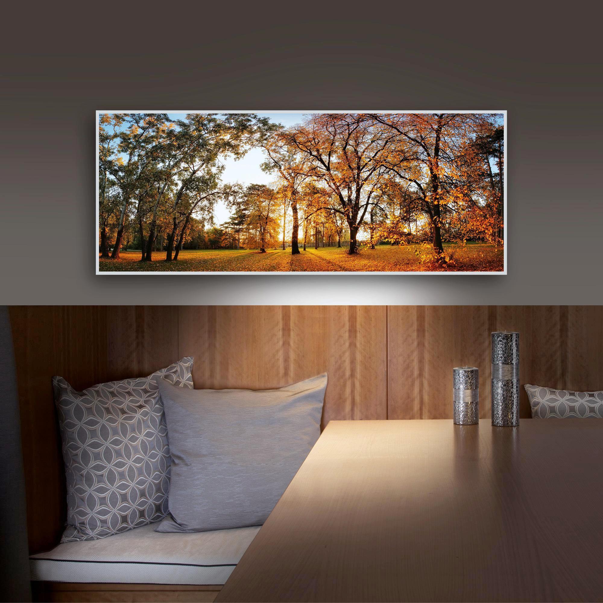 ACRYLGLASBILD - Silberfarben/Multicolor, Basics, Kunststoff/Metall (50/125/4,0cm) - EUROGRAPHICS