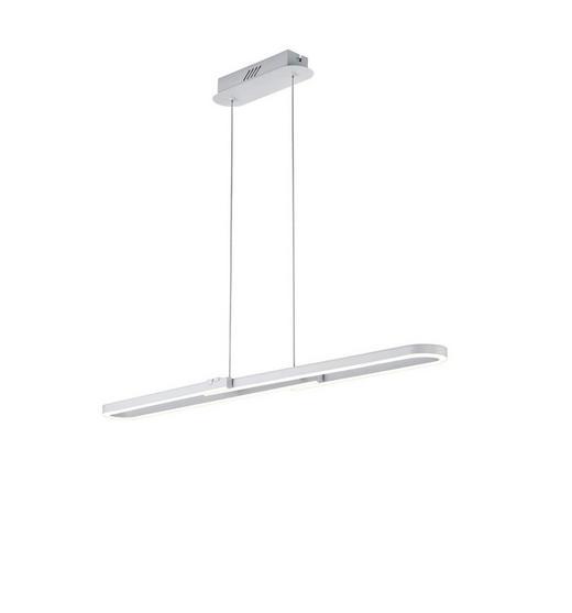 LED-HÄNGELEUCHTE - Weiß, MODERN, Metall (100/150/11,5cm)