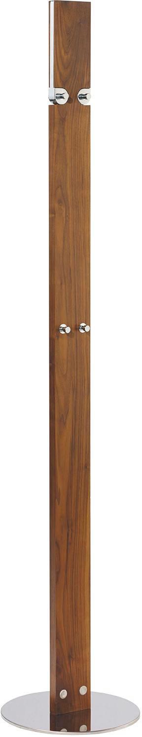 GARDEROBENSTÄNDER Nussbaumfarben - Nussbaumfarben, Design, Holz/Metall (35/52/176/35cm) - Carryhome