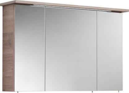 ORMARIĆ SA OGLEDALOM - Boja hrasta, Moderno, Staklo/Pločasti materijal (115/72/20cm) - Xora