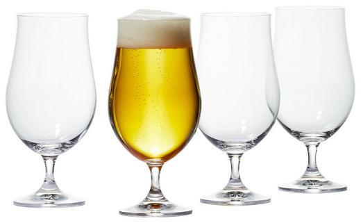GLÄSERSET 4-teilig - Klar, Basics, Glas (0,38l) - Bohemia