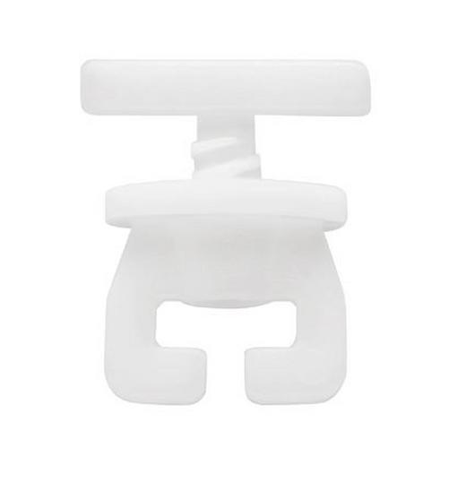 FESTSTELLER - Weiß, Basics, Kunststoff (1.4/1.2cm) - Homeware