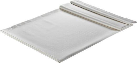 TISCHDECKE Textil Weiß 130/250 cm - Weiß, Basics, Textil (130/250cm)