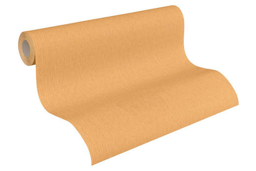 VLIESTAPETE 10,05 m - Gelb/Orange, Design, Textil (53/1005cm)
