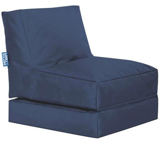 SITZSACK Blau  - Blau, Design, Textil (70/80/90cm) - Carryhome