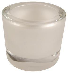 LJUSLYKTA - pärlemor, Design, glas (6,5/5,7cm)