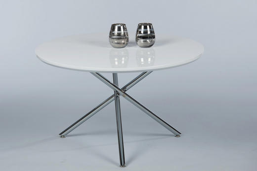 COUCHTISCH Weiß - Weiß, KONVENTIONELL, Metall (80/48cm) - Carryhome