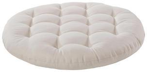 SITZKISSEN Weiß 40 cm - Weiß, Design, Textil (40cm) - BOXXX