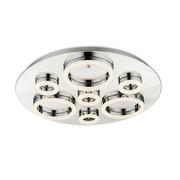 LED-DECKENLEUCHTE - Chromfarben, Design, Kunststoff/Metall (75/6,8cm) - Ambiente