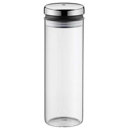VORRATSGLAS 1,5 L - Basics, Glas/Metall (9,7/28,5/cm) - WMF