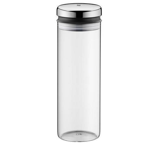 VORRATSGLAS 1,5 L  - Klar/Edelstahlfarben, Basics, Glas/Metall (1,5l) - WMF