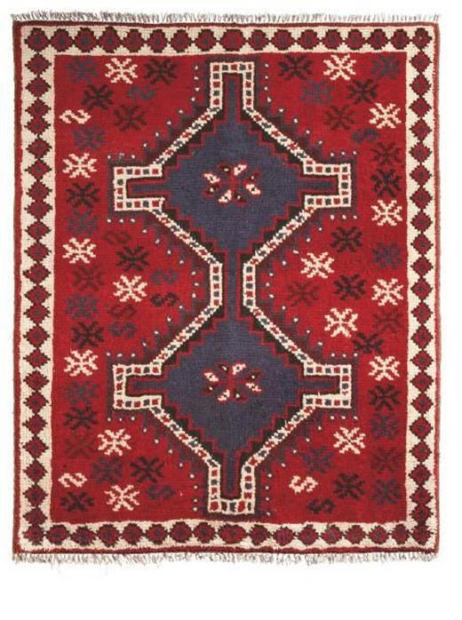 ORIENTTEPPICH 100/150 cm - Rot, LIFESTYLE, Textil (100/150cm) - Esposa
