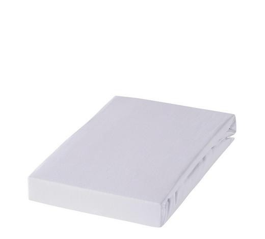 BOXSPRING-SPANNBETTTUCH - bijela, Basics, tekstil (180-200/220cm) - Novel