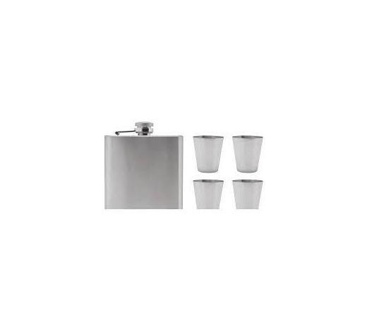 SET PLJOSKE - boje srebra, Basics, metal (12/10,5cm)