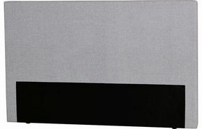 HUVUDGAVEL - ljusgrå, Klassisk, trä/textil (180/115/8cm) - Curem