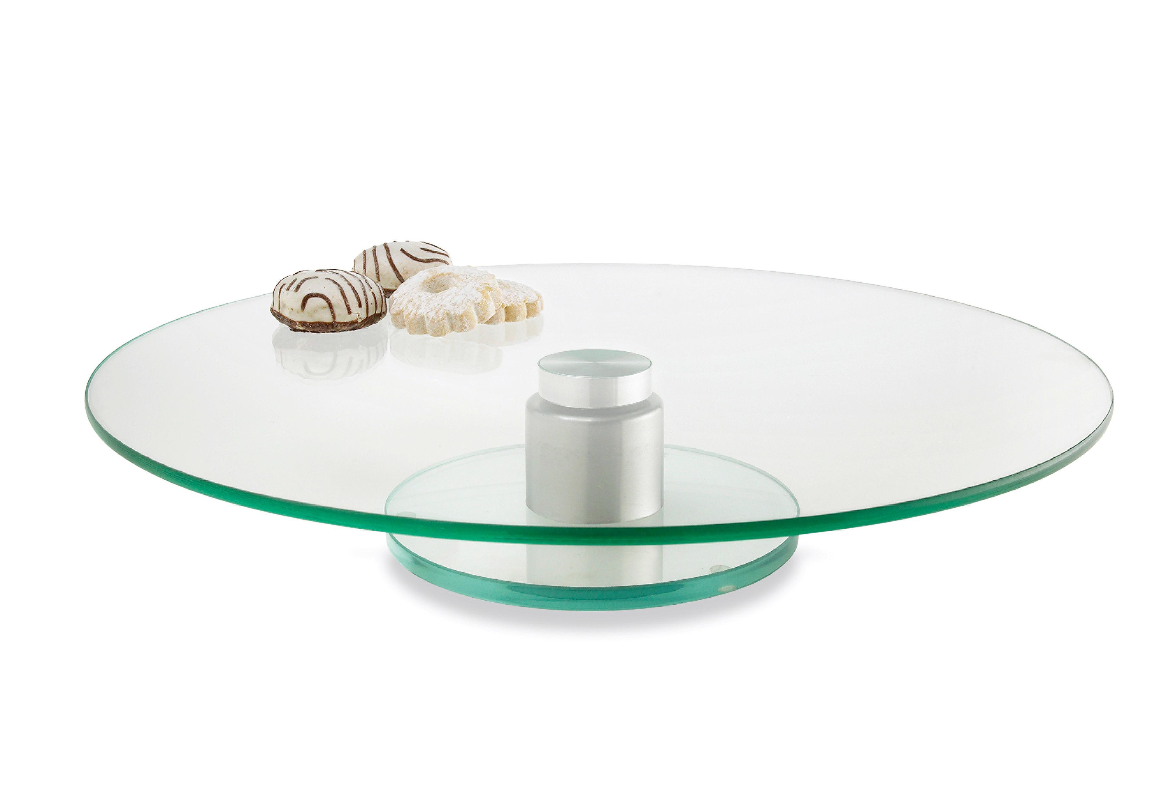 TORTENPLATTE - Klar, Glas (33cm) - LEONARDO