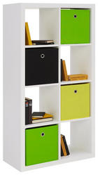 PREDELNA STENA 77 147 38 cm bela - bela, Design, leseni material (77 147 38cm) - Boxxx